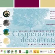 9-10 giugno | Analisi e Prospettive della Cooperazione decentrata Italia, Europa e Bolivia