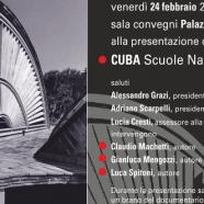 """Il 24 febbraio a Siena la presentazione del volume """"Cuba. Scuole nazionali d'arte"""""""