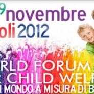 Infanzia: in Campania il 'World Forum for Child Welfare'
