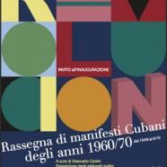 A Fano una mostra di poster cubani, fino al 9 ottobre 2014
