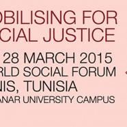 La delegazione di ARCS al Forum Sociale di Tunisi