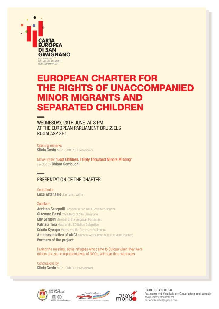 La Carta di San Gimignano al Parlamento Europeo