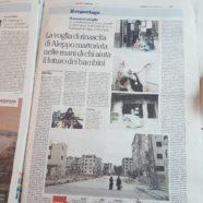 Reportage di la Repubblica (09.11.2017)