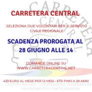 Nuova scadenza per il Servizio Civile Regionale