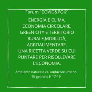 ambiente naturale ambiente umano 5 - covid e poi - carretera central