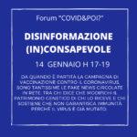 disinformazione inconsapevole 1 - forum online - carretera central