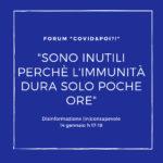 disinformazione inconsapevole 3 - forum online - carretera central