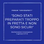 disinformazione inconsapevole 6 - forum online - carretera central