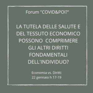 economia vs diritti 2 - covid e poi - carretera central