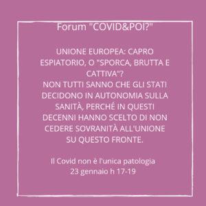 il covid non è l'unica patologia 5 - covid e poi - carretera central