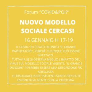 nuovo modello sociale cercasi 1 - covid e poi - carretera central
